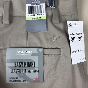 "Dockers Pants - Dockers ""Classic Fit"" flat front khakis - NEW!"